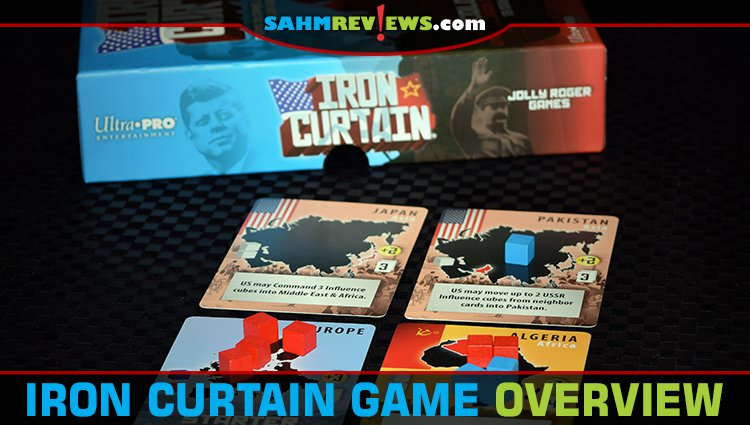 Iron Curtain Card Game Overview