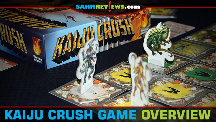 Kaiju Crush Board Game Overview