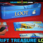 This week we found a hidden gem at our Goodwill - a copy of Gamewright's Loot card game that was designed by Reiner Knizia! - SahmReviews.com