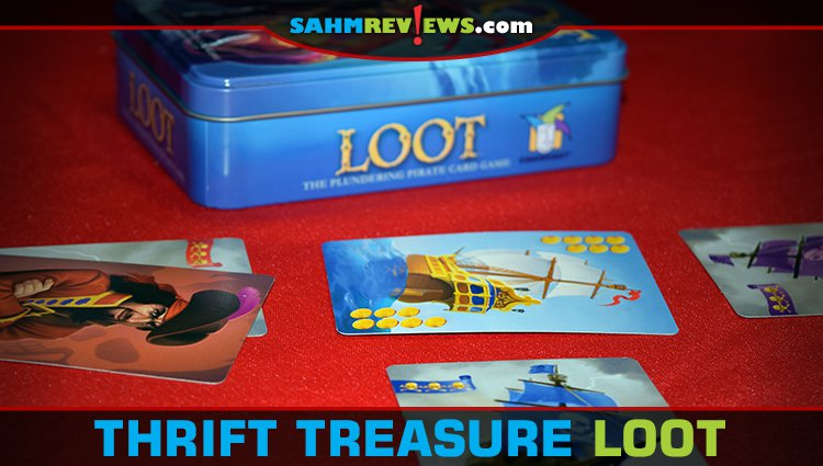 Thrift Treasure: Loot Card Game