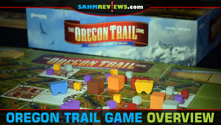 The Oregon Trail Board Game Overview