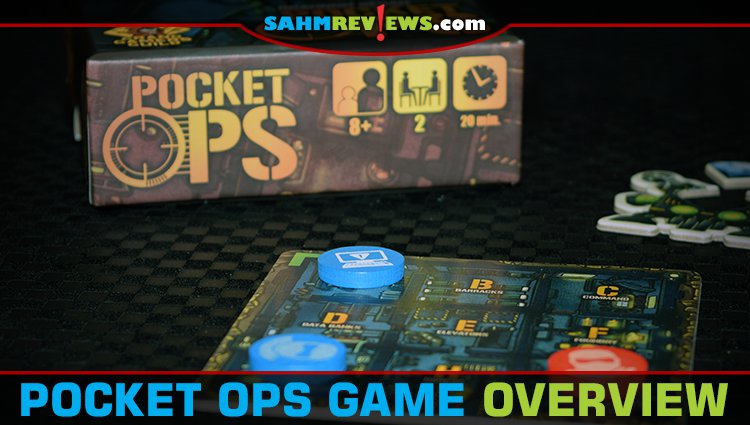 Pocket Ops Board Game Overview