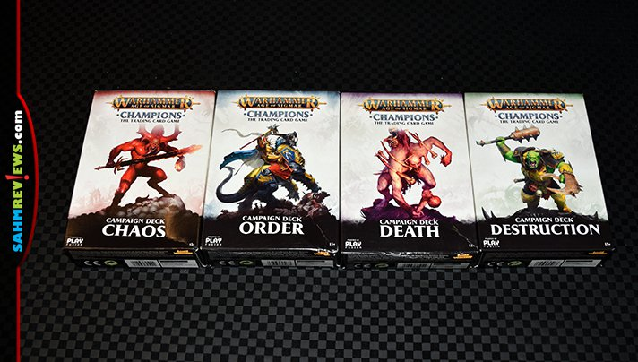 There's a new TCG on the block and it is true to the Warhammer world. We take a look at Play Fusion's new Warhammer Age of Sigmar: Champions card game! - SahmReviews.com