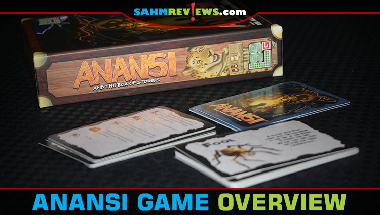 Anansi and the Box of Stories Card Game Overview