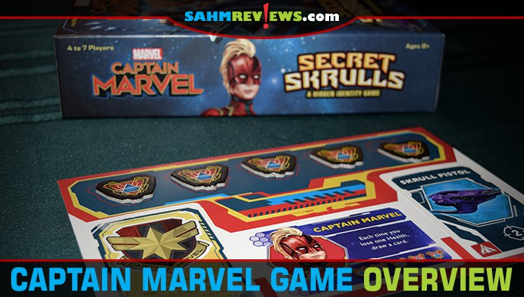 Captain Marvel Secret Skrulls Hidden Identity Game Overview