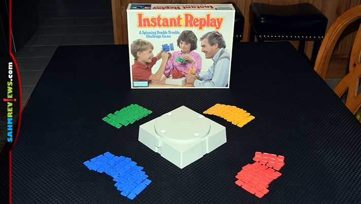 It was another case of finding a game that had gone unplayed for over 30 years! This week we picked up Instant Replay by Parker Brothers for only $1.88! - SahmReviews.com