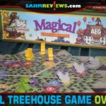 It's every child's dream to have a treehouse. Appease your inner-child and build your own in Magical Treehouse from Alderac Entertainment Group! - SahmReviews.com