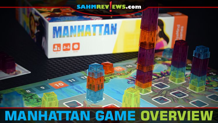 Manhattan Board Game Overview