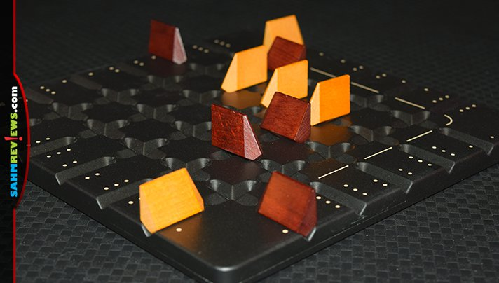 It's the latest in their long line of wooden abstract games. Squadro by Gigamic pits you against an opponent vying to fly your ships back and forth! - SahmReviews.com