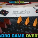 It's the latest in their long line of wooden abstract games. Squadro by Gigamic pit you against an opponent vying to fly your ships back and forth! - SahmReviews.com