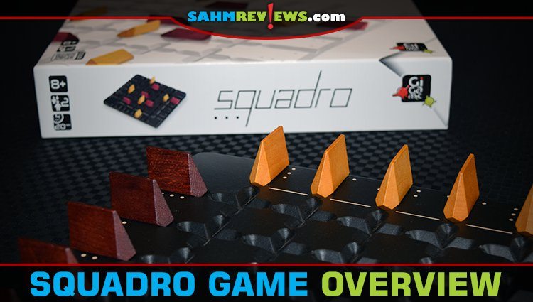 Squadro 2-Player Wooden Game Overview