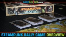 Steampunk Rally Board Game Overview