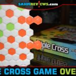 Triple Cross is very different than the other 3-in-a-row games we've played. In fact, you need to line up as many as you can and block your opponent! - SahmReviews.com