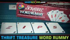 Thrift Treasure: Scrabble Word Rummy