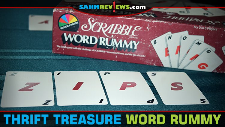 Thrift Treasure: Scrabble Word Rummy