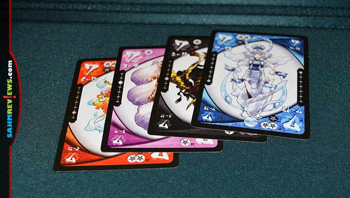 Once you've mastered Hearts or Spades, check out Ninja Star Games' Yokai Septet. Straight from Japan, its a slightly more complex trick-taking game! - SahmReviews.com