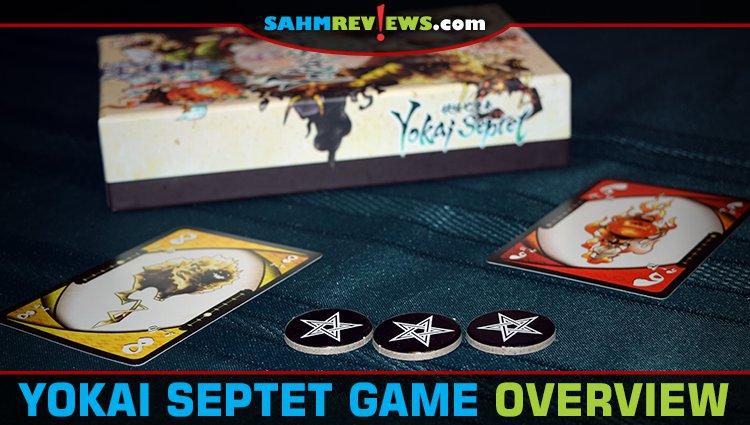 Yokai Septet Card Game Overview