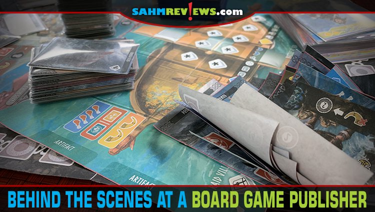 A Look Behind the Scenes at a Board Game Company