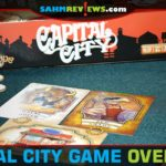 Be part of the western expansion by buying buildings then staffing with travelers in Capital City from Calliope Games. - SahmReviews.com