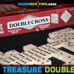 We had never seen three-sectioned dominoes before, so we had to pick up Doublecross at Goodwill when we found it. Too bad it wasn't a better game! - SahmReviews.com