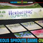 An amazing follow-up to Herbaceous, Herbaceous Sprouts adds dice and area control to the world of community gardens! It should be in your collection! - SahmReviews.com