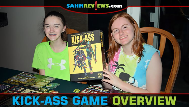 Kick-Ass Cooperative Board Game Overview