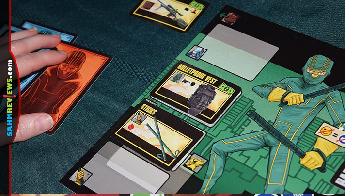We've never found a cooperative game we didn't like. And Kick-Ass by CMON doesn't require one of us to be the bad guy! We'll win or lose together! - SahmReviews.com