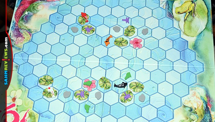 Make a splash at your next game night with KOI board game from Smirk & Laughter. - SahmReviews.com