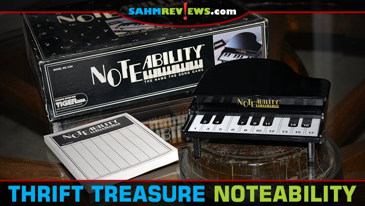 Thrift Treasure: Noteability Song Game