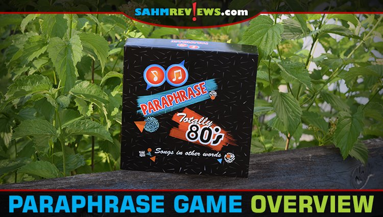First Look: Paraphrase Party Game