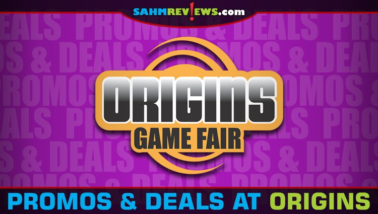 Promos & Deals at Origins Game Fair 2019