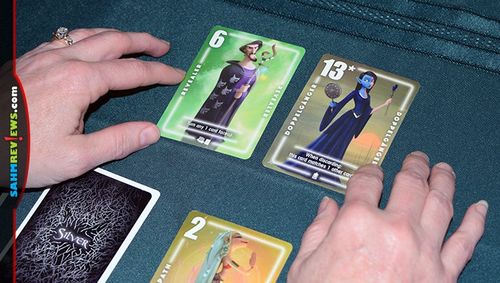 Following the success of Cabo card game, Bezier Games released the first two in a series: Silver Amulet game and Silver Bullet game. - SahmReviews.com