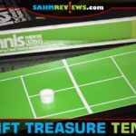 This vintage card game of Tennis uses mechanics that are surprisingly recent. Maybe it was a little ahead of its time?! It's one to watch for at thrift! - SahmReviews.com