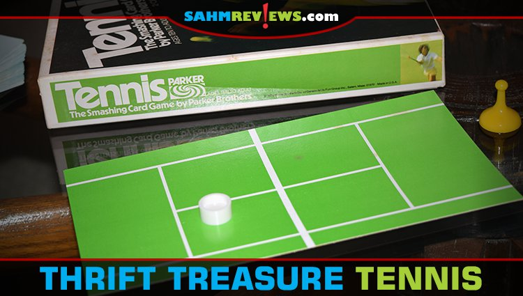 Thrift Treasure: Tennis Card Game