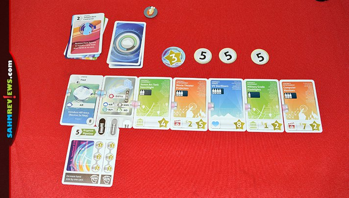 Think you know deck-builders? You have to try out Xenon Profiteer by Eagle-Gryphon Games. It shows there is still life in the decades-old genre! - SahmReviews.com
