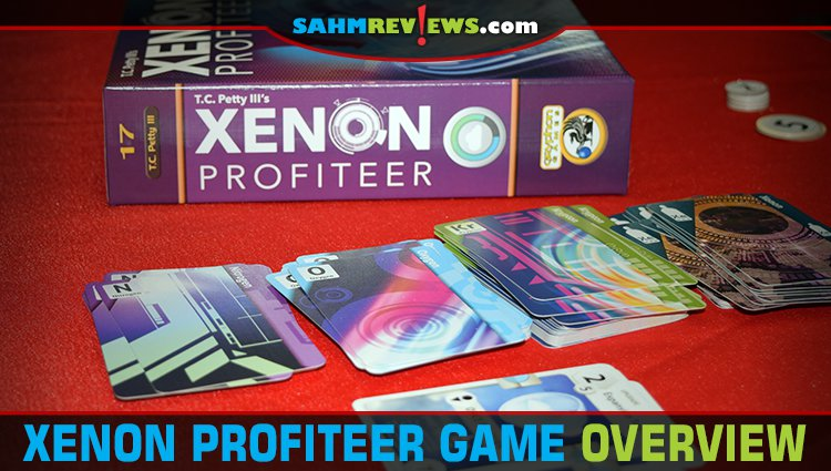 Xenon Profiteer Card Game Overview
