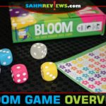Select your favorite flower and create bouquets in Bloom dice game from Gamewright. - SahmReviews.com