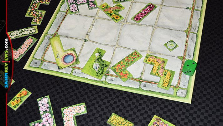 If all gardens grew in polyomino shapes, we would have the greenest thumbs around. Practice your gardening skills in Cottage Garden game from Stronghold Games. - SahmReviews.com