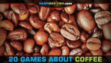 20 Board & Card Games About Coffee