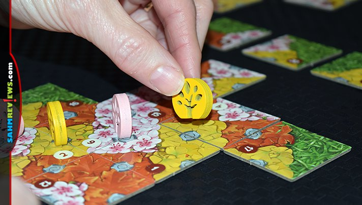Love Carcassonne but it's too difficult for the family? Check out iello's new Legendary Forests! It's the lastest Japanese import done right! - SahmReviews.com