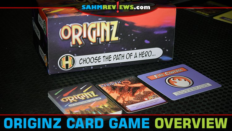 Originz Superhero Card Game Overview