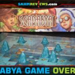Plan your excavation well and you could find the most valuable scarabs in Scarabya from Blue Orange Games. - SahmReviews.com