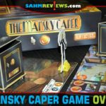 You can be greedy or you can play it safe in The Mansky Caper from Calliope Games. Just don't blow the place up! - SahmReviews.com