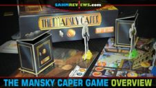 The Mansky Caper Game Overview