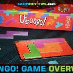 Ubongo puzzle game from Kosmos is a fast-paced geometric puzzle using polyomino pieces. - SahmReviews.com
