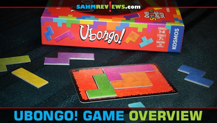 Ubongo! Puzzle Game Overview