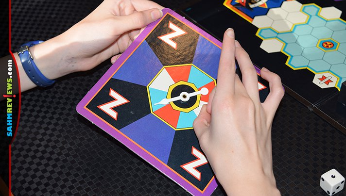One of my favorite arcade games was once made into a board game. Experience your own flashback by checking out how Zaxxon was played! - SahmReviews.com