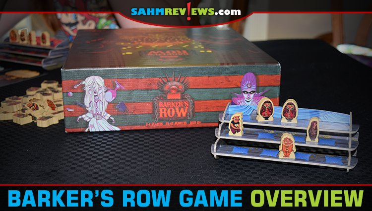 Barker's Row Card Game Overview