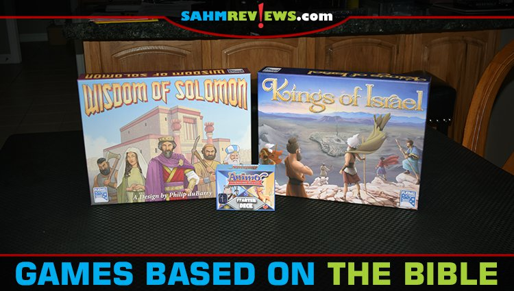 Card and Board Games Based on the Bible