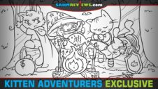 Exclusive Announcement from Steve Jackson Games: Kitten Adventurers Dungeon Survival Pack